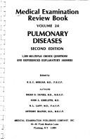 Cover of: Pulmonary Diseases