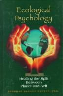 Cover of: Ecological Psychology