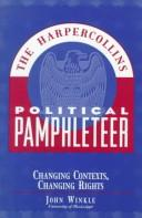 Cover of: Changing Contexts, Changing Rights (Harpercollins Political Pamphleteer)