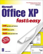 Cover of: Microsoft Office XP Fast & Easy