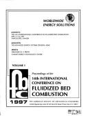 Cover of: Fluidized Bed Combustion: Proceedings; International Conference on Fluidized Bed Combustion (14th: 1997: Vancouver, Canada)