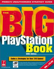 Cover of: The Big PlayStation Book