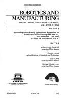 Cover of: Robotics and Manufacturing |