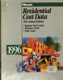 Cover of: Means Residential Cost Data 1996 (Issn 0733-6403)