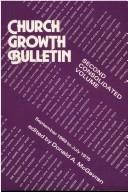 Cover of: Church Growth Bulletin Volume 2 | Donald McGavran
