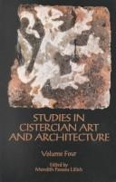 Cover of: Studies in Cistercian art and architecture |