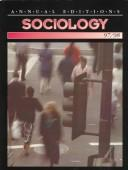 Cover of: Sociology 97/98 (26th ed)