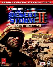 Cover of: Conflict: Desert Storm II -- Back to Baghdad (Prima's Official Strategy Guide)