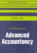Cover of: Advanced Accountancy