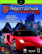 Cover of: Project gotham racing 2 | Jon Dudlak