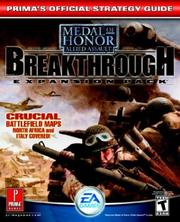 Cover of: Medal of Honor Allied Assault Breakthrough