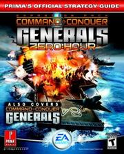 Cover of: Command & Conquer Generals | Steve Honeywell