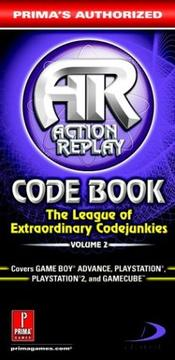 Cover of: Action Replay Code Book Vol.2: Prima
