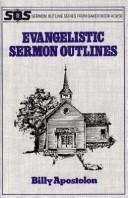 Cover of: Evangelistic Sermon Outlines (Sermon Outlines (Baker Book))
