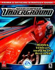 Cover of: Need for Speed Underground