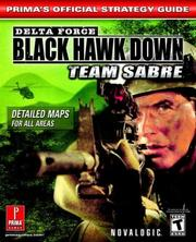 Cover of: Delta Force--Black Hawk Down: Team Sabre (Prima's Official Strategy Guide)