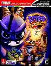 Cover of: Spyro: A Hero's Tail (Prima Official Game Guide)