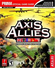 Cover of: Axis & Allies