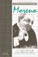 J L Moreno (Key Figures in Counselling and Psychotherapy series) by A. Paul Hare, June Rabson Hare