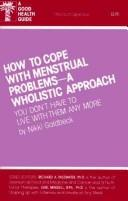 Cover of: How to Cope with Menstrual Problems