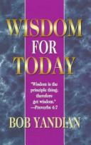 Cover of: Wisdom for Today