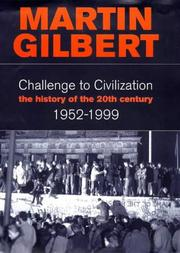 Cover of: Challenge to Civilization a History Of