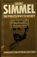 Cover of: Philosophy of Money | Georg Simmel