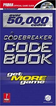 Cover of: Codebreaker Code Book | Prima Games