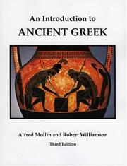 Cover of: introduction to ancient Greek | Alfred Mollin