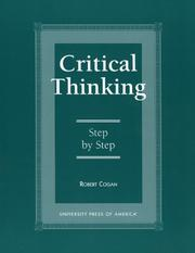 Critical Thinking: Step by Step. and Resistance in the Works of John