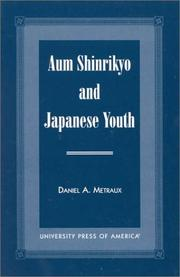 Cover of: Aum Shinrikyo and Japanese youth