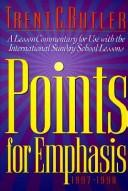 Points for Emphasis by Trent C. Butler