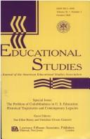 Cover of: The Problem of Colorblindness in U.S. Education | HENRY/GENERETT