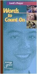 Cover of: Words to Count on Std Lords PR (Living in Grace)