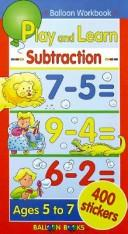 Cover of: Play and Learn Subtraction | Balloon Books