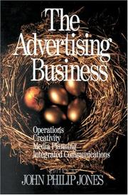 Cover of: The Advertising Business