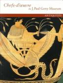 Cover of: Masterpieces of the J. Paul Getty Museum: Antiquities |