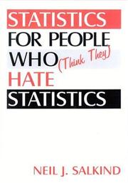 Cover of: Statistics for People Who (Think They) Hate Statistics