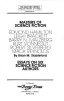 Cover of: Masters of Science Fiction