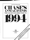 Cover of: Chase's Annual Events | Contemporary