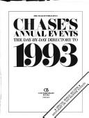 Cover of: Chases Annual Events | Contemporary Books, inc.