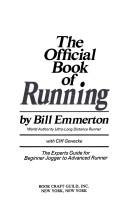 Cover of: Official Book of Running
