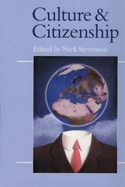 Cover of: Culture and Citizenship (Politics and Culture) (Politics and Culture series)