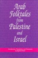 Cover of: Arab folktales from Palestine and Israel |