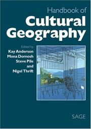 Cover of: Handbook of cultural geography |