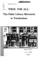 Cover of: Free for All (Borough of Twickenham Local History Society Papers)