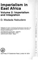 Cover of: Imperialism in East Africa | D. Wadada Nabudere