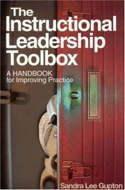 Cover of: The Instructional Leadership Toolbox | Sandra Lee Gupton