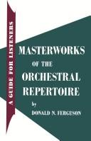 Cover of: Masterworks of the orchestral repertoire by
