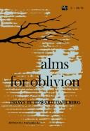 Cover of: Alms for Oblivion